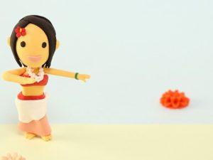 フラダンスのイメージ