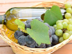 ワインと葡萄のイメージ