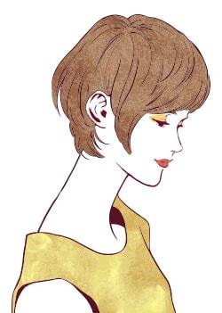美白女性イメージ