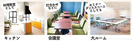 キッチン・会議室・大ルーム
