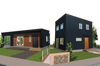 平屋・2階建て住宅イメージ