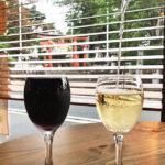 諏訪神社とワイン