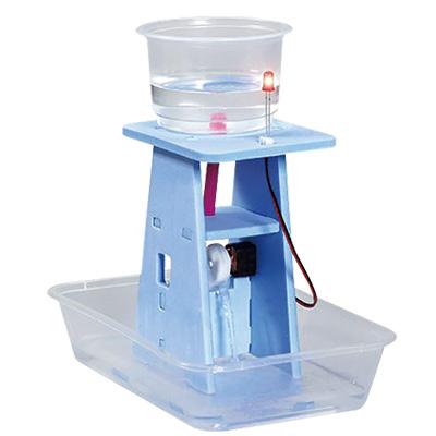 水力発電組立キット