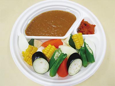 夏野菜ごろごろカレー